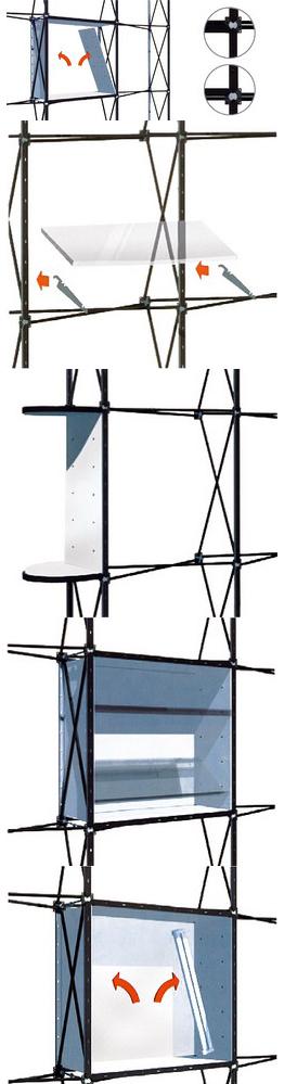 Схема монтажа стенда